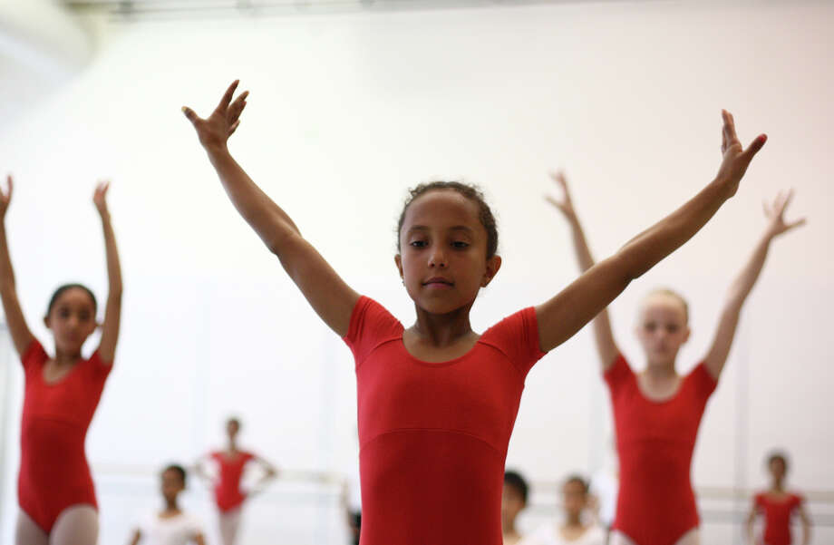 Students perform during the 18th annual DanceChance Observation day. Photo: JOSHUA TRUJILLO / SEATTLEPI.COM