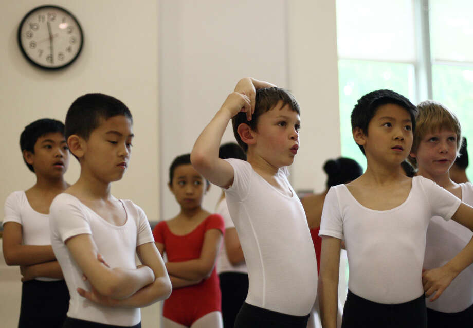 Students prepare to perform during the 18th annual DanceChance Observation day at Pacific Northwest Ballet. Photo: JOSHUA TRUJILLO / SEATTLEPI.COM