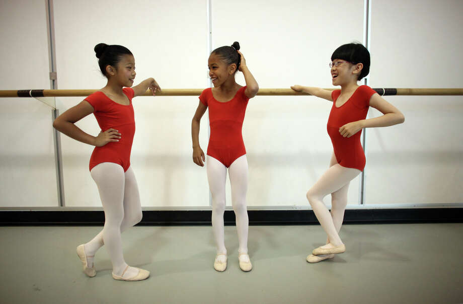 Students wait backstage before their performance at the 18th annual DanceChance Observation day at Pacific Northwest Ballet. Photo: JOSHUA TRUJILLO / SEATTLEPI.COM