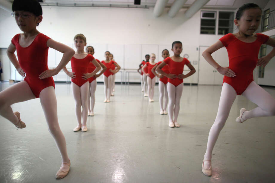Dancers perform during the 18th annual DanceChance Observation day at Pacific Northwest Ballet. Photo: JOSHUA TRUJILLO / SEATTLEPI.COM