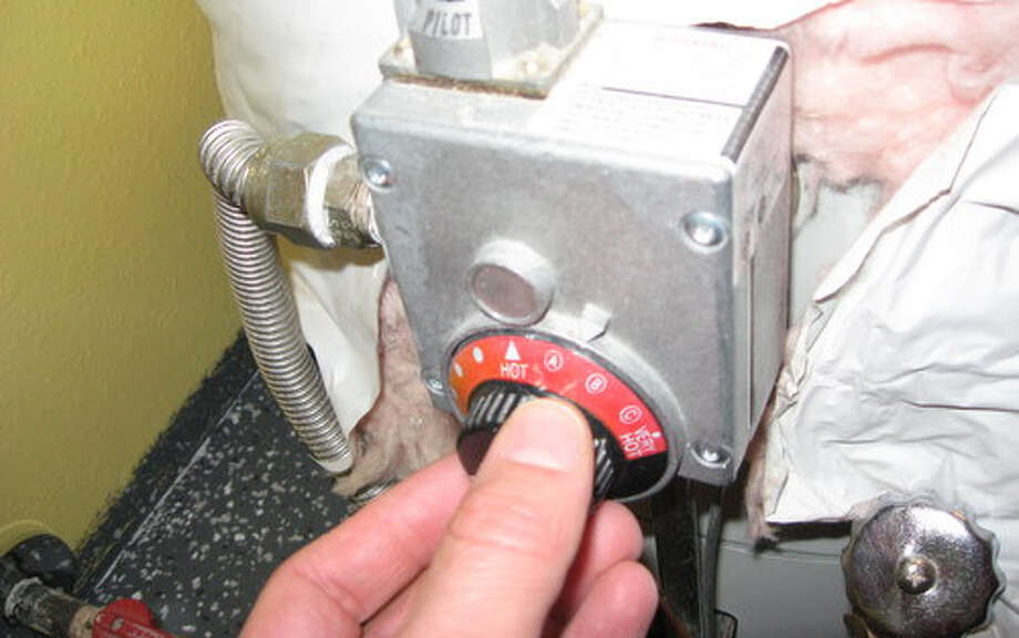Set water heater temperature to 120 degrees.