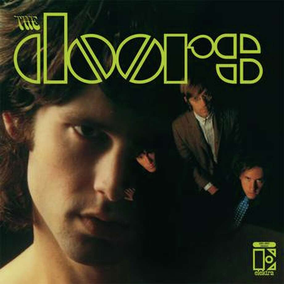 "The Doors, 'The Doors' (1967): The first blast of Jim Morrison's cosmic poetry and the band's organ-driven dark soul, as manifested in the eternally spooky love song, ""Light My Fire."""