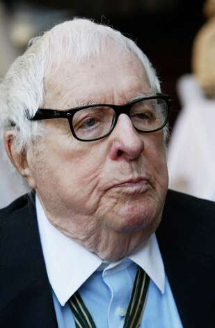 "Legendary science fiction author Ray Bradbury attends a luncheon celebrating the Golden Globe nominated Best Foreign Language Film (France) ""I've Loved You So Long"" at the residence of The Consul General of France-Los Angeles on January 9, 2009 in Beverly Hills, California. It was reported on June 6, 2012 that science-fiction author Ray Bradbury has died at 91 in Los Angeles. Photo: Vince Bucci, Getty Images / 2009 Getty Images"