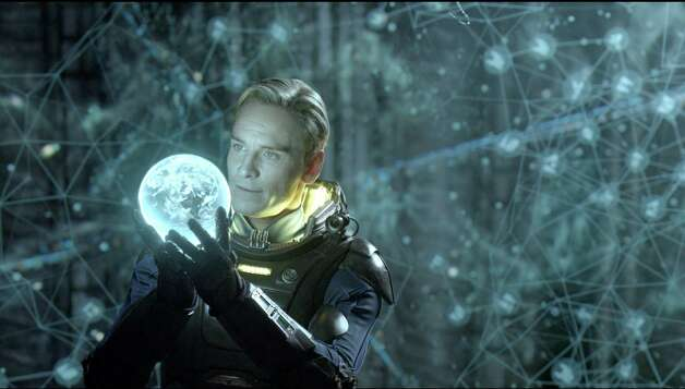 "This film image released by 20th Century Fox shows Michael Fassbender in a scene from ""Prometheus."" (AP Photo/20th Century Fox, Kerry Brown) / TM and © 2012 Twentieth Century Fox Film Corporation.  All right"