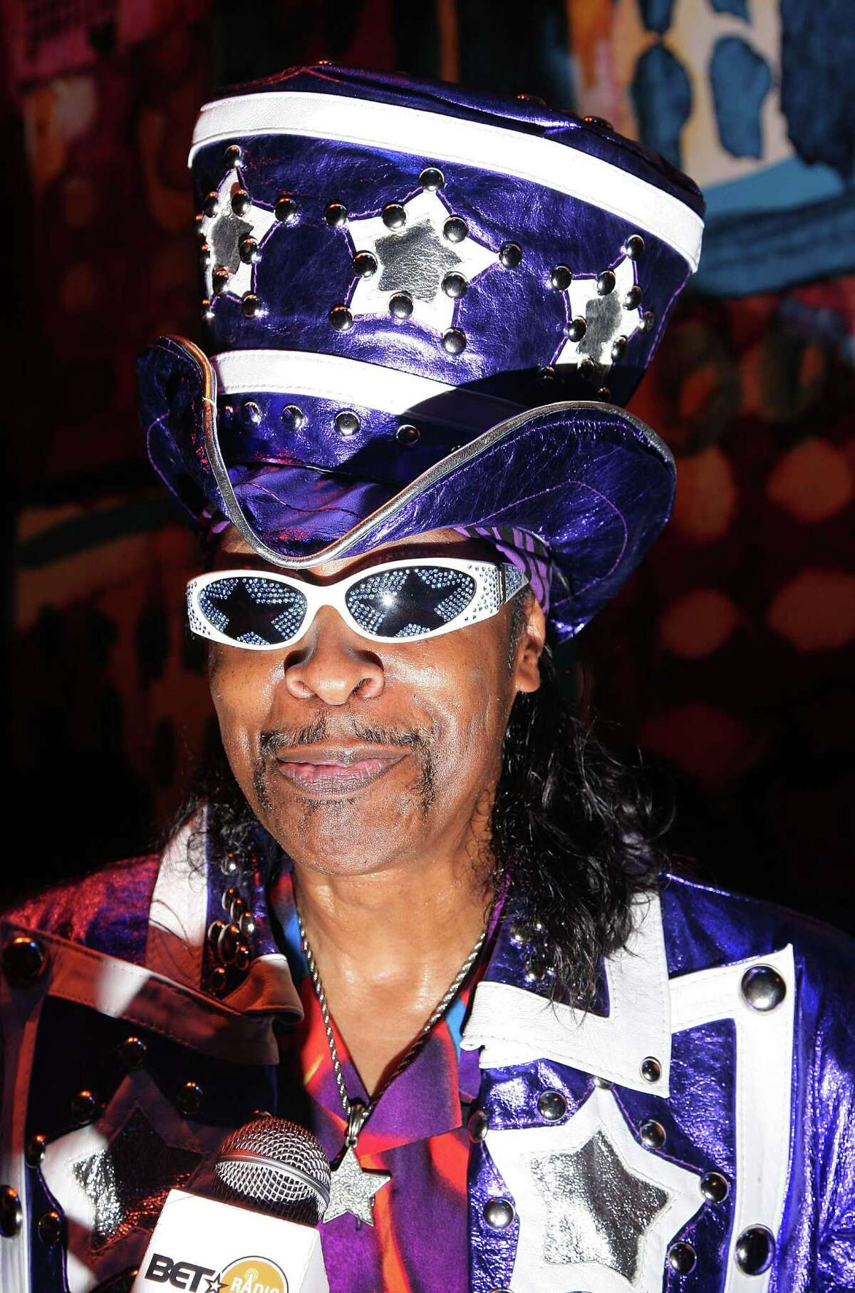 NEW YORK - SEPTEMBER 10: Musician Bootsy Collins attends the BMI Urban Awards at Jazz at Lincoln Center on September 10, 2009 in New York City. (Photo by Michael Loccisano/Getty Images for BMI)