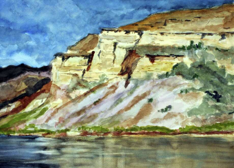On Friday, June 8, Atria Darien will host an art show opening and wine reception for local artists George Cammann, Kent Haydock and Robert van Marx. Pictured is a painting by Cammann. Darien, Conn. Photo: Contributed Photo