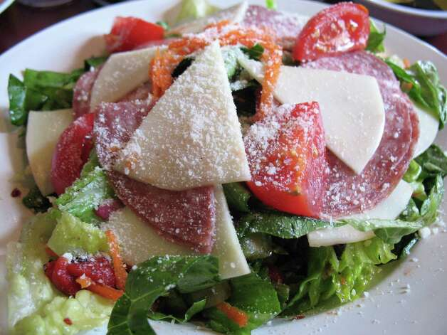The Sicilian salad at DiLiberto's Restaurant and Bakery. Photo: Jennifer McInnis / San Antonio Express-News