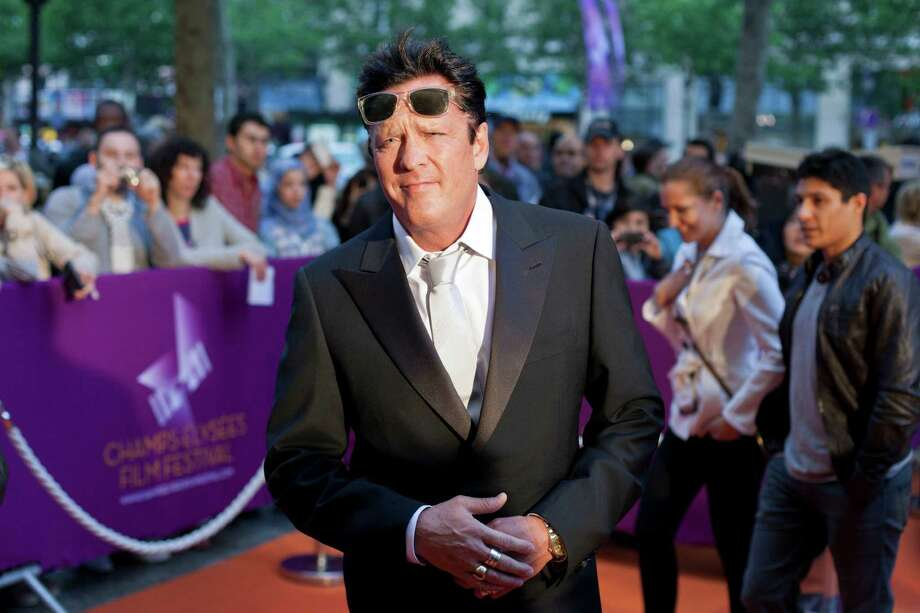 Michael Madsen arrives at the Champs Elysees Film Festival in Paris.  The American actor is the president of the festival. Photo: Thibault Camus, Associated Press