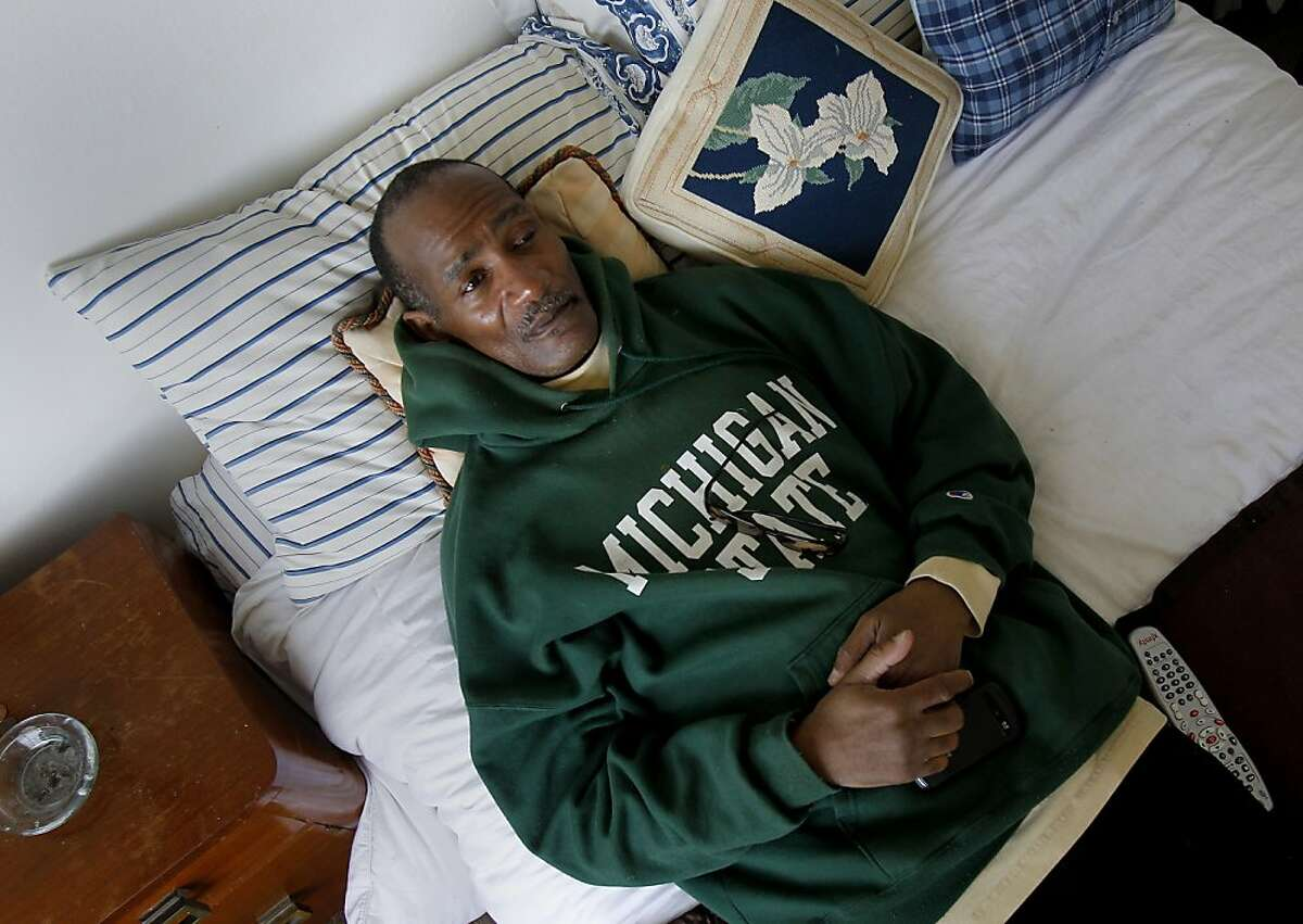 Brett Smith finally has a real bed, thanks to his voucher, and he's off the streets. Brett Smith, a U.S. Army veteran, was homeless in San Francisco for years, but now has a place in the Richmond district not far from the beach.