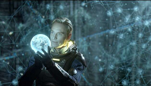 "This film image released by 20th Century Fox shows Michael Fassbender in a scene from ""Prometheus."" (AP Photo/20th Century Fox, Kerry Brown) Photo: Associated Press"