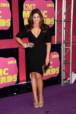NASHVILLE, TN - JUNE 06:  Musician Hillary Scott of Lady Antebellum arrives at the 2012 CMT Music awards the Bridgestone Arena on June 6, 2012 in Nashville, Tennessee. Photo: Jason Merritt, Getty Images / 2012 Getty Images