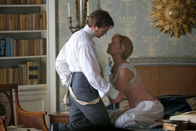 Robert Pattinson and Uma Thurman in BEL AMI, a Magnolia Pictures release. Photo: Courtesy Of Magnolia Pictures