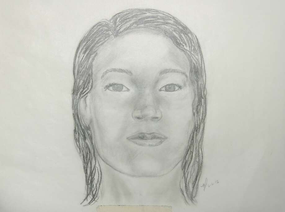 Sketch of a woman whose body was found in a trash can in Pleasanton on May 24, 2012. Photo: Pleasanton Police