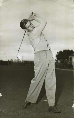 Bob Rosburg became the first San Franciscan to win a major with the 1959 PGA Championship. Photo: The Chronicle, File 1949