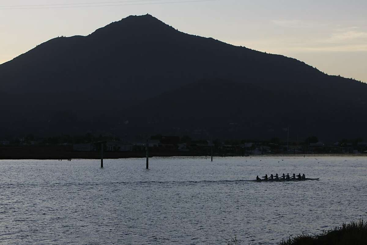 Mt. Tamalpais viewed from Corte Madera Creek in Marin County. A new study of Marin County women determined to be at high risk for breast cancer found twice as likely to have a variant of a vitamin D receptor.