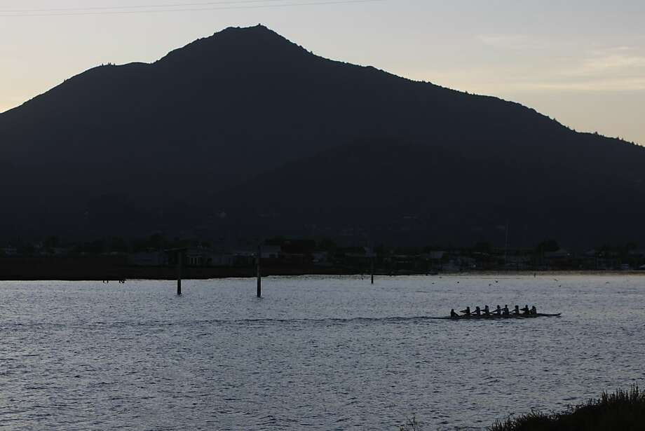 Mt. Tamalpais viewed from Corte Madera Creek in Marin County. A new study of Marin County women determined to be at high risk for  breast cancer found twice as likely to have a variant  of a vitamin D receptor. Photo: Eric Luse, The Chronicle