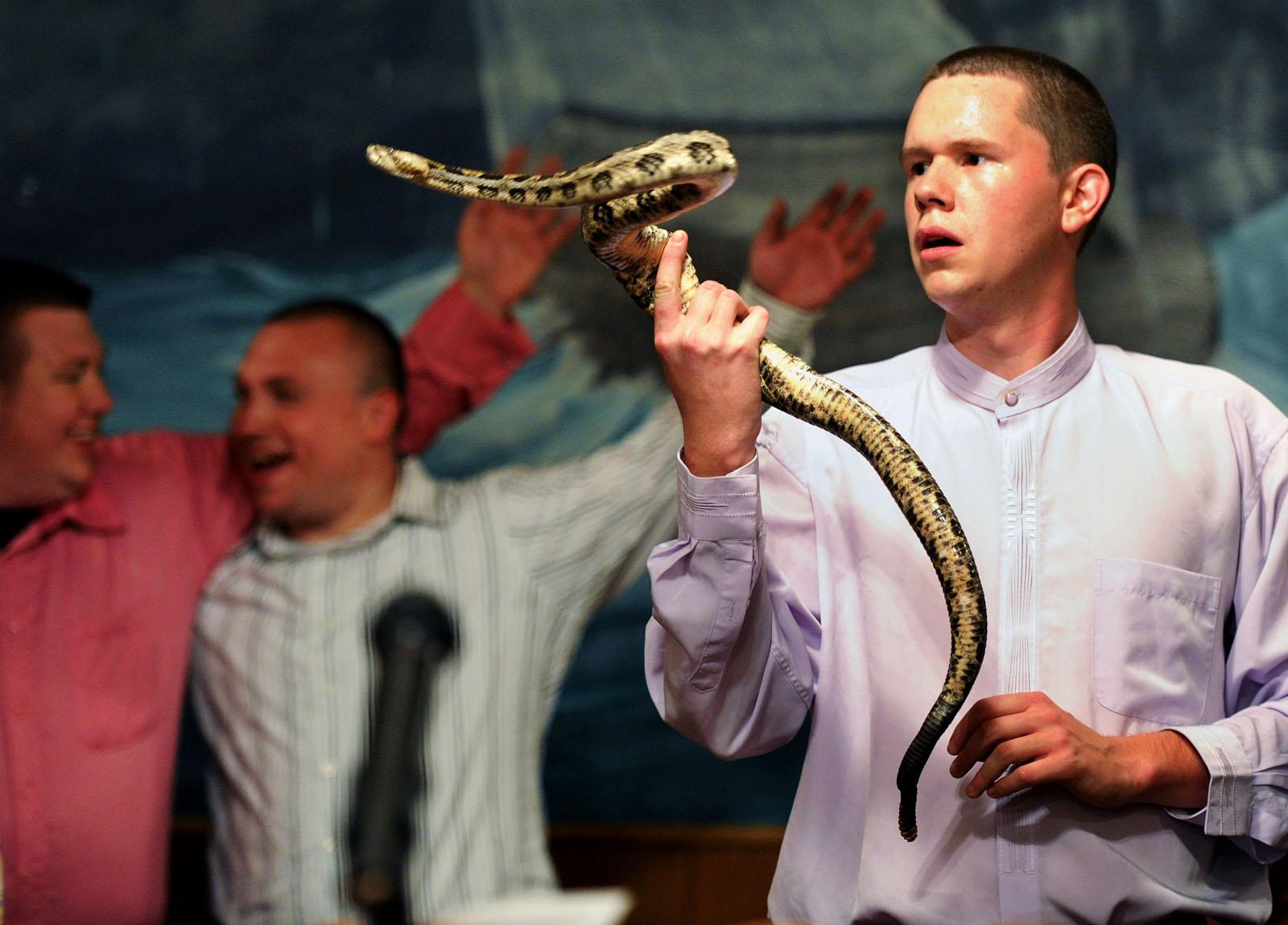 snake handling