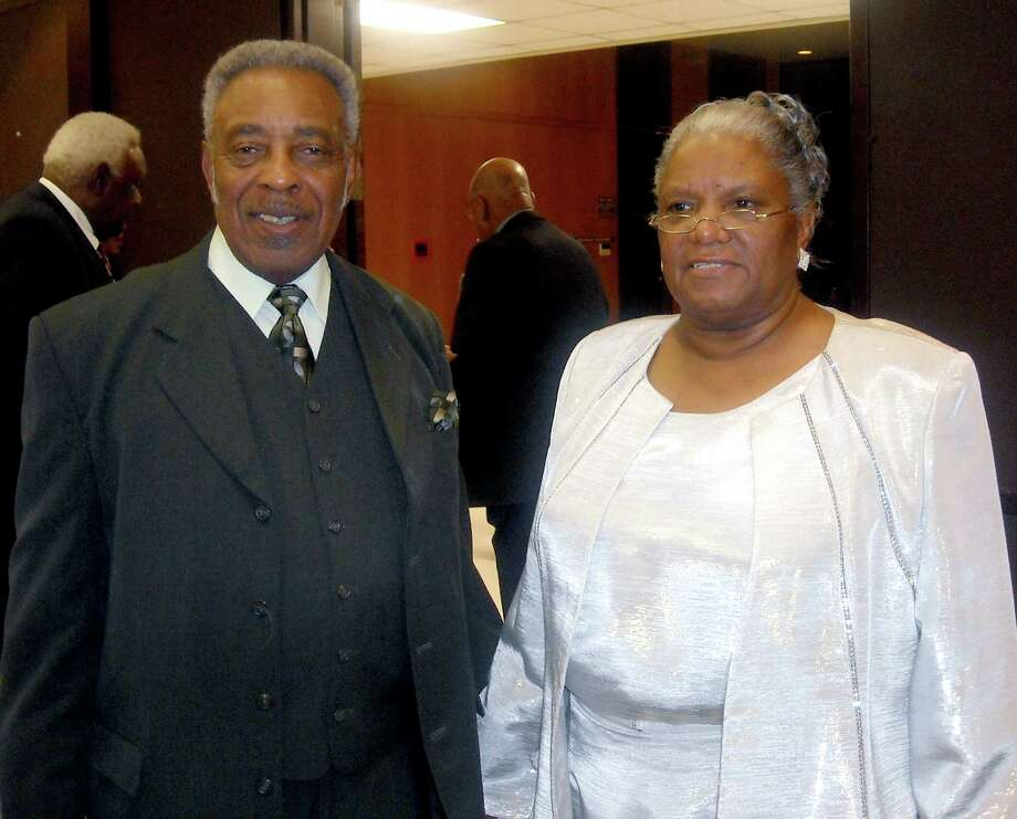 Rev. Charles Purnell Jr. and his wife Eula .  Courtesy photo Photo: Courtesy Photo