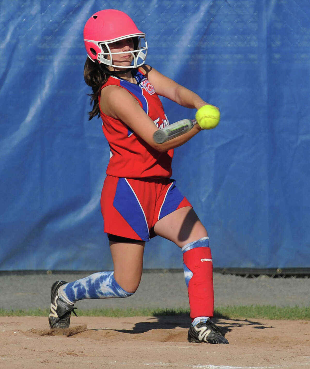 Girls Little League softball action --- similar to this scene from Fairfield's run to the Eastern Regionals last year --- will be on display next weekend in a fundraiser at the South Pine Creek Recreation Area.
