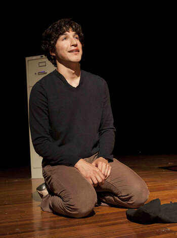 "Edison High School drama student Kenneth Lopez performs in the play ""Pillowman."" He'll spend his first post-high school summer attending a camp at the American Musical and Dramatic Academy in New York City. Courtesy photo"