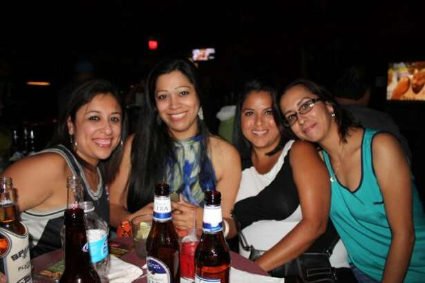 Fans gathered at Legends Sports Bar Wednesday night to cheer on the Spurs in game six of the playoffs.  (Yvonne Zamora)
