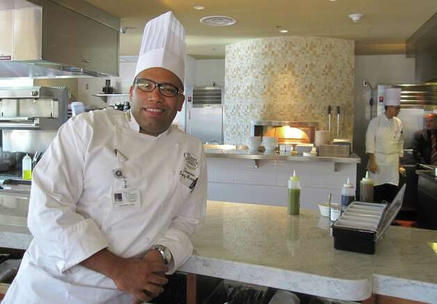 Geronimo Lopez, a native of Venezuela, is head of the kitchen of the Culinary Institute of America, San Antonio's second restaurant, Nao.