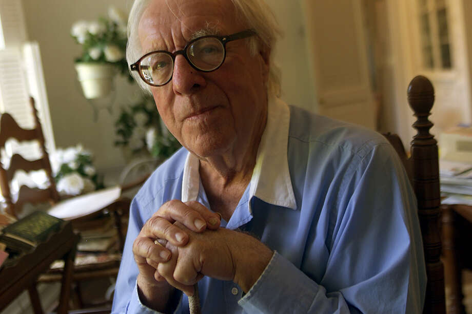 Ray Bradbury captivated readers with stories of intergalactic travel, life on other planets, the future and the past. Photo: Los Angeles Times File Photo