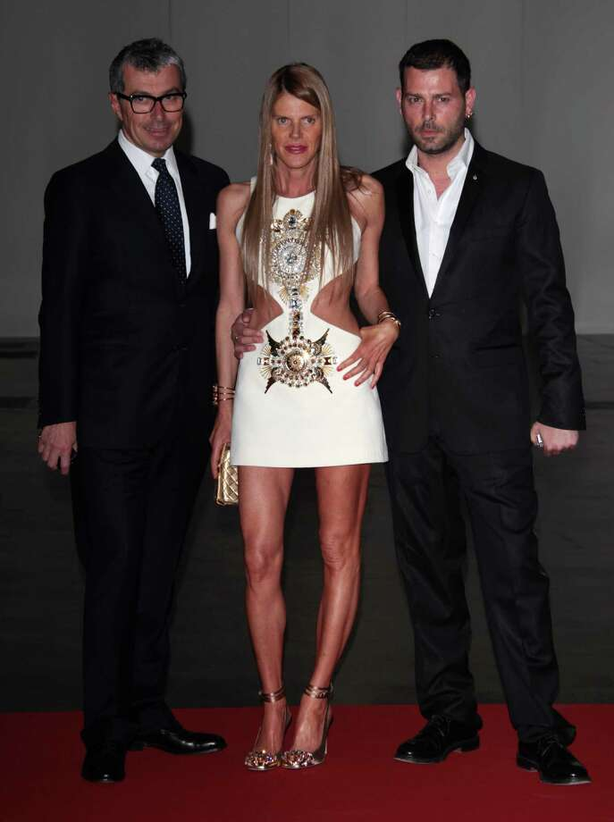 Giorgio Guidotti, Anna dello Russo and guest attend the 2012 Convivio charity gala event on June 7, 2012 in Milan, Italy. Photo: Vittorio Zunino Celotto, Getty Images / 2012 Getty Images