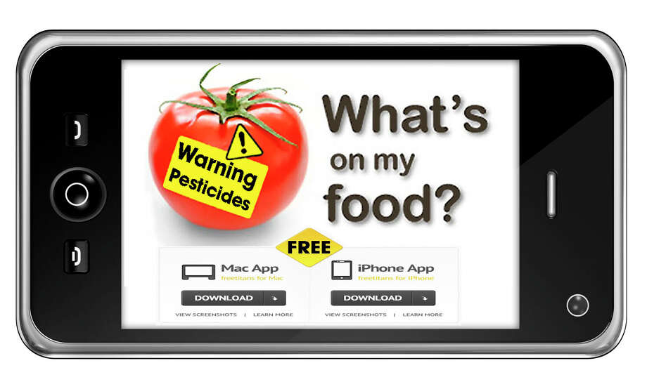 Pesticide Action Network's ìWhatís On My Foodî website and iPhone app help consumers know specifically which pesticide residues are likely ending up on their foods (and in their bloodstreams). Photo courtesy of Pesticide Action Network Photo: Contributed Photo
