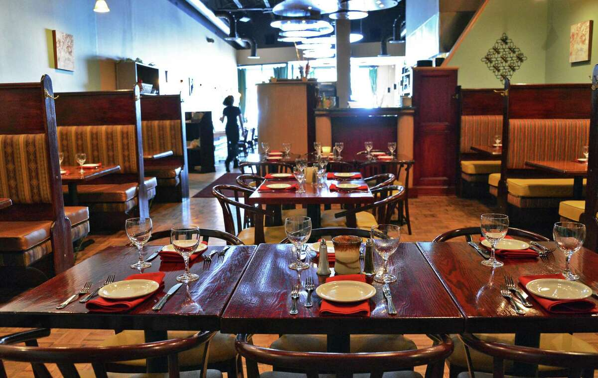 Interior of the Sage Bistro at the Star Plaza in Guilderland Friday June 1, 2012. (John Carl D'Annibale / Times Union)