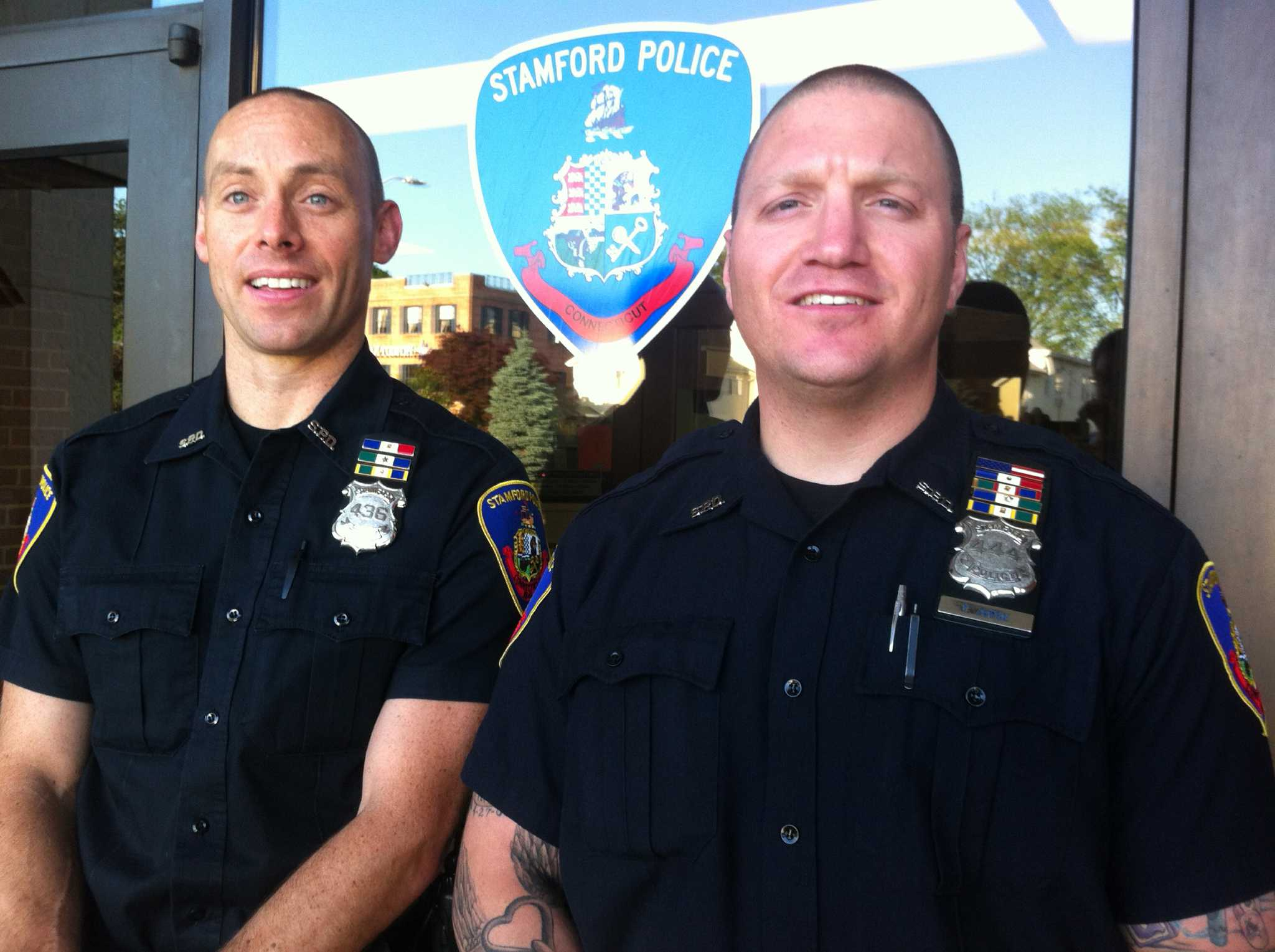 Partners On The Beat While Stamford Sleeps Stamfordadvocate