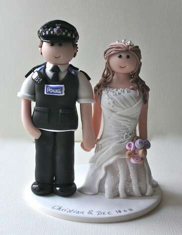 Police wedding cake topper from Louise Hunter Photo: Flickr Creative Commons License