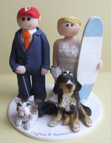 Personalised Wedding Cake Toppers from ✭Lou✭ Photo: Flickr Creative Commons License