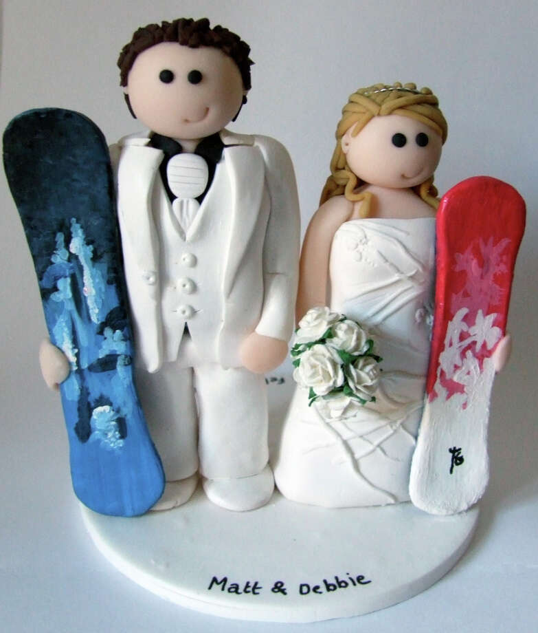 My latest wedding cake topper from Louise Hunter Photo: Flickr Creative Commons License