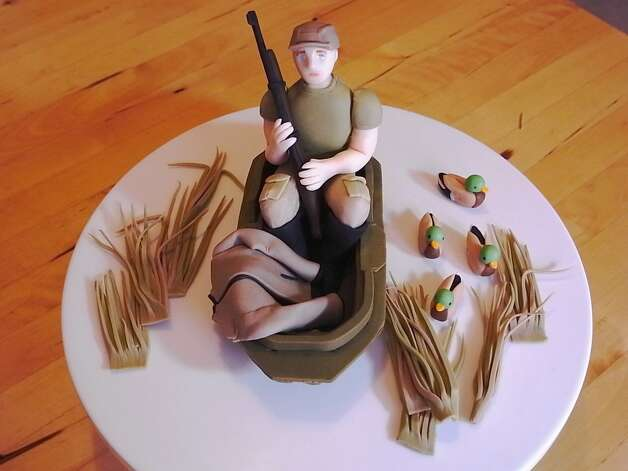 Duck Hunting Scene cake topper from bittle Photo: Flickr Creative Commons License