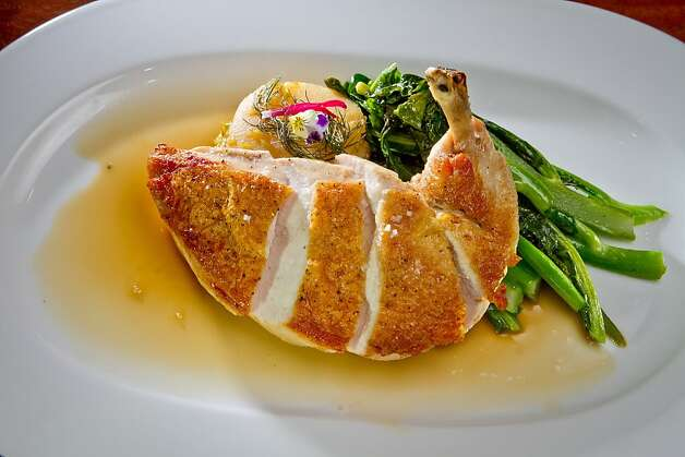 Mar's Chicken at Lucy Restaurant in Yountville, Calif., is seen on Saturday, May 26th, 2012. Photo: John Storey