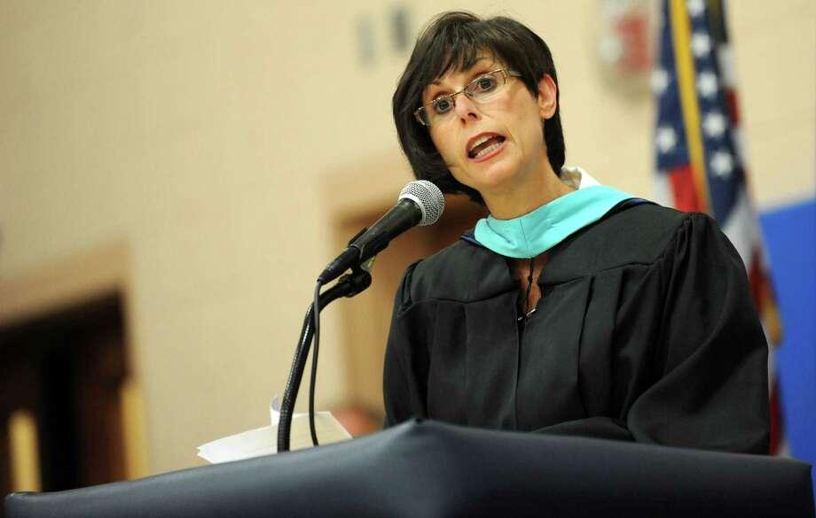 FILE: Superintendent of Schools Carol Merlone. Photo: Autumn Driscoll / Connecticut Post