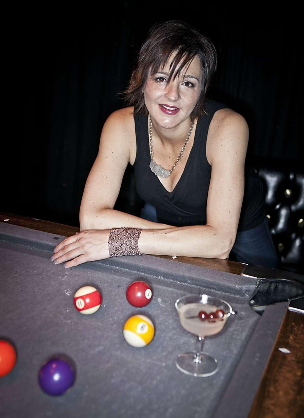 Jessica Maria of Hotsy Totsy, seen on Tuesday, June 5, 2012 at Hotsy Totsy Club in Albany, Calif., is a Chronicle 2012 Bar Star.