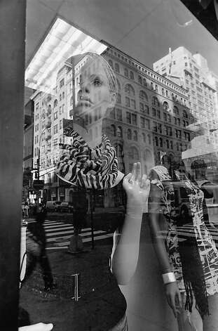 """New York City, 2010"" gelatin silver print by Lee Friedlander Photo: Lee Friedlander"
