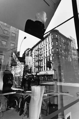 """New York City, 2008"" gelatin silver print by Lee Friedlander Photo: Lee Friedlander"