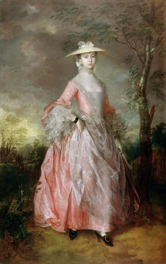 "Thomas Gainsborough's ""Mary, Countess Howe"" is an icon of English beauty, renowned for its delicate details and the painter's beautifully imagined landscape. Photo: American Federation Of Arts"