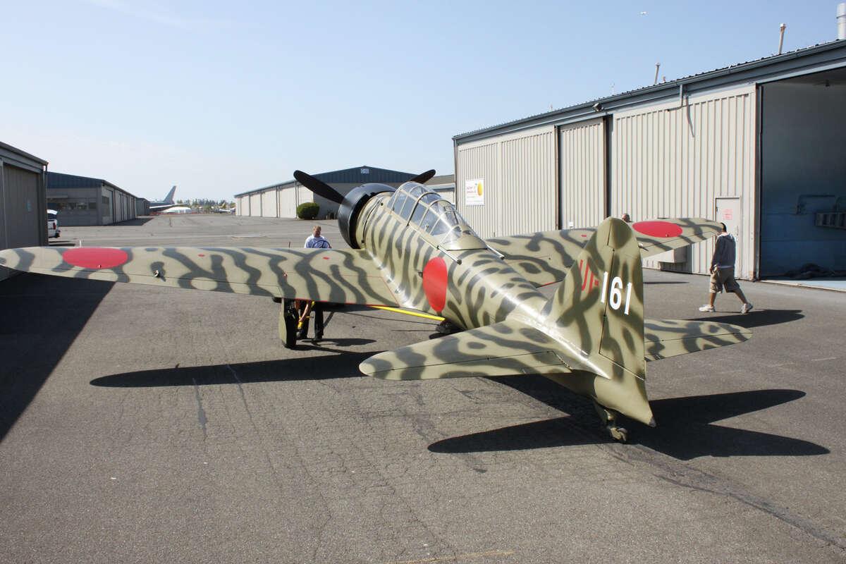 The Flying Heritage Collection's new Mitsubishi A6M3-22 (Zeke/Zero).
