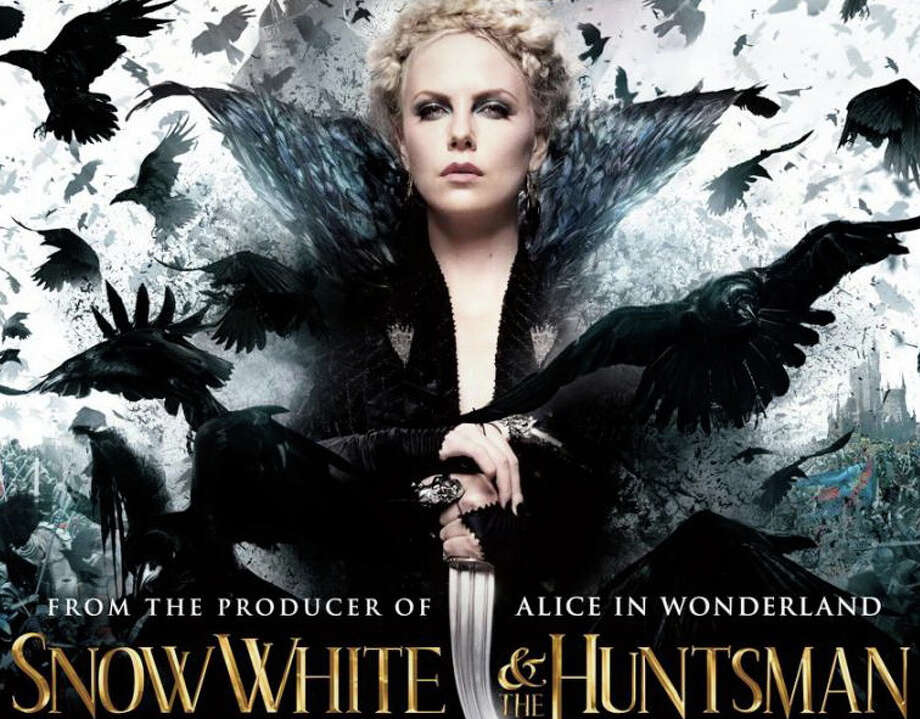 """Snow White and the Huntsman,"" a new screen version of the Grimm fairy tale, is playing in area movie theaters. Photo: Contributed Photo / Westport News contributed"