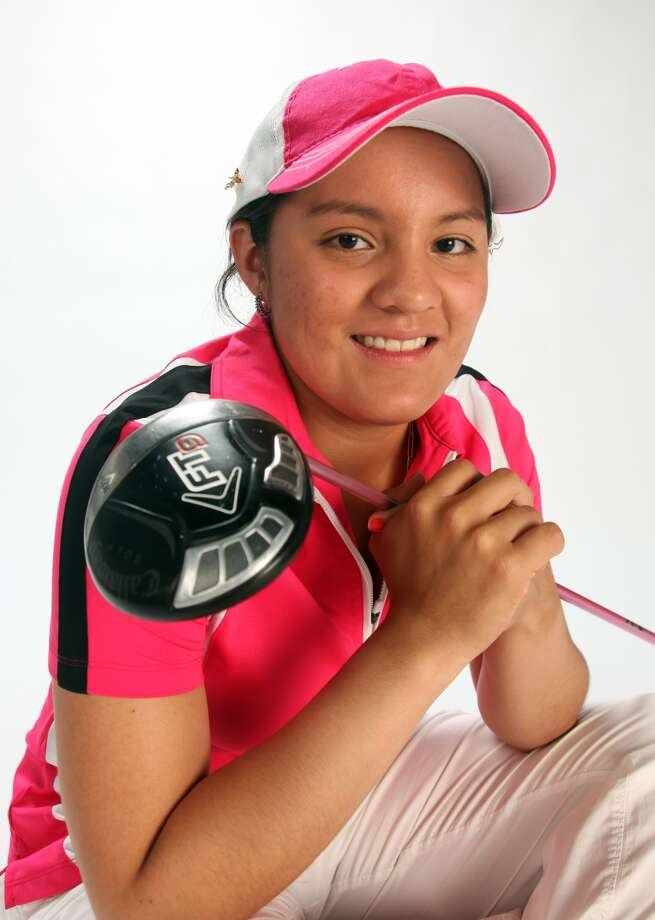Girls golfer of the year: Marijosse Navarro of Reagan. Juanito Garza / San Antonio Express-News