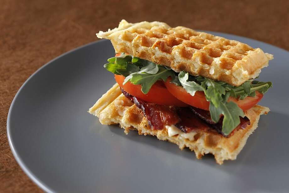 Sourdough Waffle BLTS as seen in San Francisco, California on Wednesday, May 30, 2012. Food styled by Stephanie Kirkland. Photo: Craig Lee, Special To The Chronicle