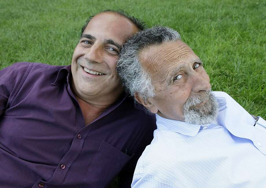 "FILE - This June 19, 2008 file photo shows brothers Tom, left, and Ray Magliozzi, hosts of National Public Radio's ""Car Talk"" show, in Cambridge, Mass. The Magliozzi  brothers said Friday, June 8, 2012, they will stop making new episodes of their comic auto advice show at the end of September, 25 years after ""Car Talk"" began in Boston. The show airs every Saturday morning and is National Public Radio's most popular program. Older brother Tom is 74 years old and the brothers say it's time to stop and smell the cappuccino. ""Car Talk"" isn't disappearing, however. NPR says repurposed episodes will continue to air every week with material culled from the show's archives. (AP Photo/Charles Krupa, file) Photo: Charles Krupa, Associated Press"