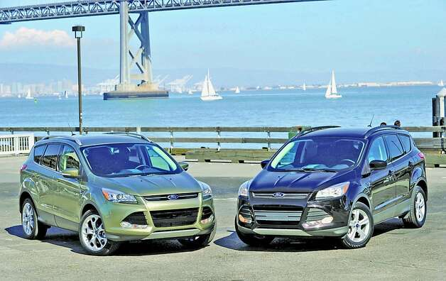In any of its trim levels, the 2013 Ford Escape represents a smarter SUV in a sensibly sized format. Pressed hard by members of the press, the test models yielded mileage results that generally fell short of the projected levels. Photo: Ford, Wieck