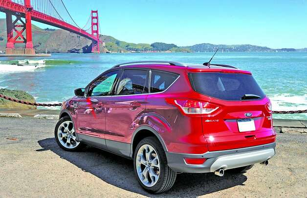 The all-new 2013 Ford Escape will be available in four trim levels : the base Escape S; the Escape SE; an SEL model Escape; and the cream-of-the-crop Titanium Escape. Photo: Ford, Wieck