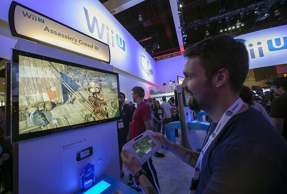 """Assassin's Creed III"" is one of the games designed to be played on the Nintendo Wii U console. Photo: Damian Dovarganes, Associated Press"