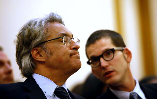 Ross Mirkarimi appears at a San Francisco Ethics Commission hearing at City Hall in San Francisco, Calif. Tuesday, May 29, 2012. Photo: Sarah Rice, Special To The Chronicle